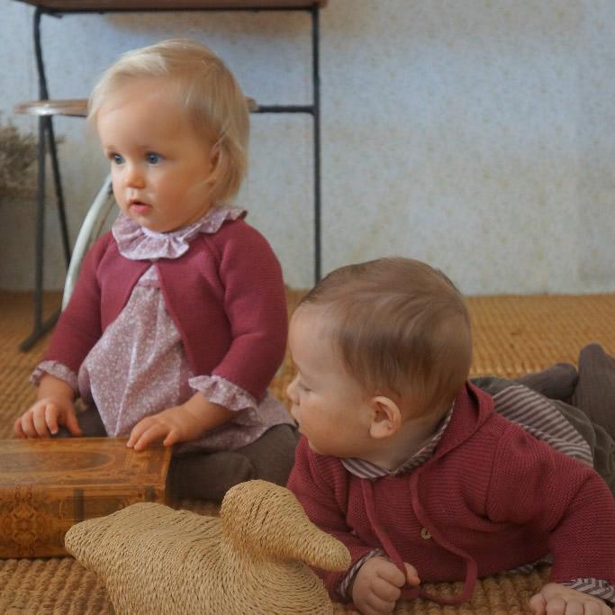 ropa para bebés boutique María Jesús