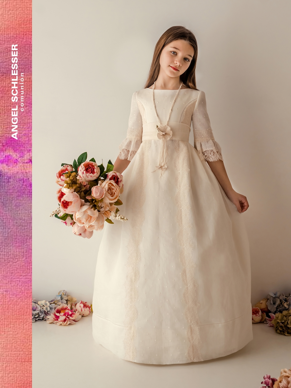 nueva colecci u00f3n vestidos de comuni u00f3n para ni u00f1as 2019